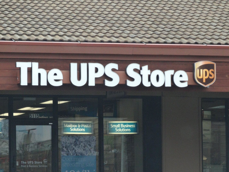 UPS Store Closeup